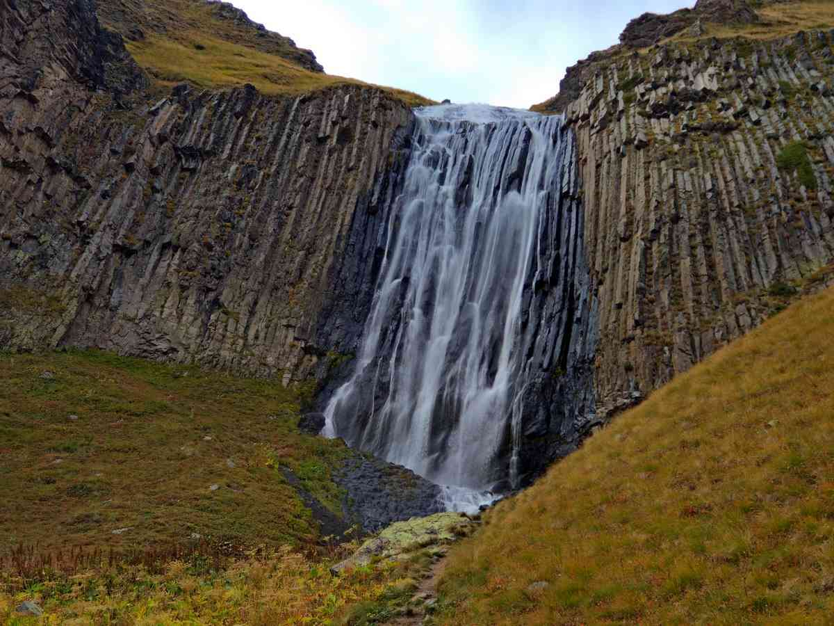 Водопад Терскольский