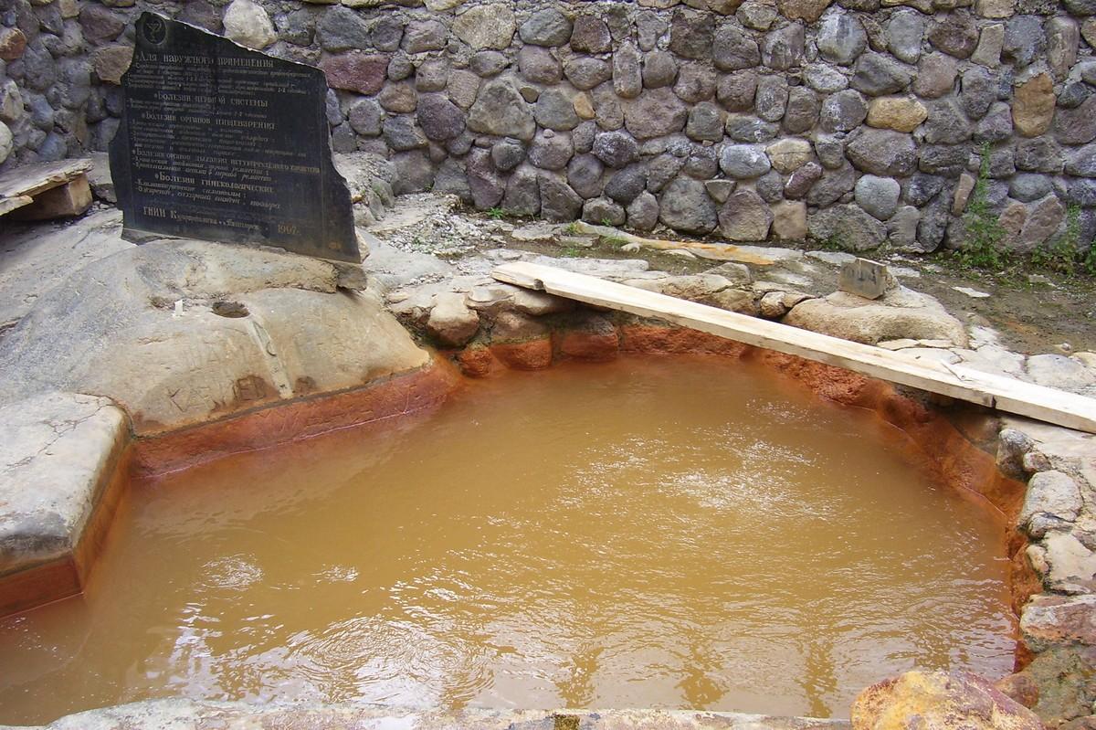 Джилы-су ванна
